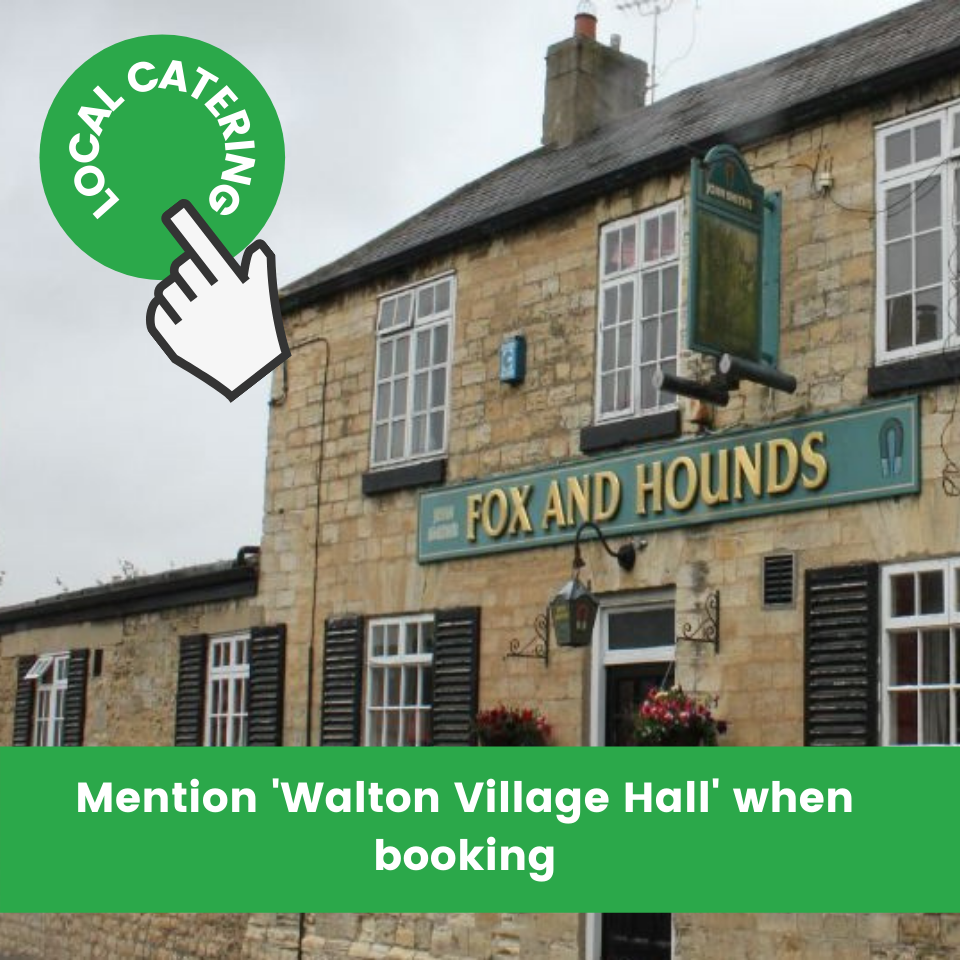 The Fox and Hounds, Walton, Wetherby for outdoor catering