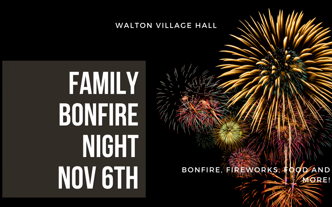 Family Bonfire Night tickets now on sale